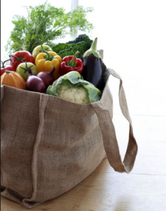 veggies in the bag - online image